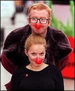 [ image: A Ginger production: Chris Evans and Geri Halliwell]