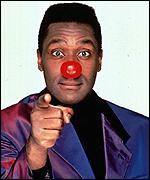 [ image: Lenny Henry: One of the founders of Comic Relief]