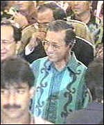 [ image: Prime Minister Mahathir on the campaign trail]