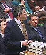 Gordon Brown's Budget speech