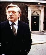 [ image: David Dimbleby: Outside in the cold]