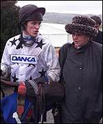 [ image: Jenny Pitman and champion jockey Tony McCoy]