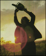 [ image: Don't look now: Leatherface on the rampage]