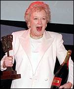 [ image: June Whitfield: Received a special prize]