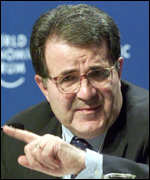 [ image: Romano Prodi: The former Italian prime minister is another keen Third Way-er]