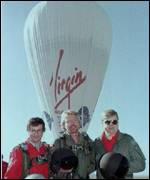 [ image: Richard Branson and his team were foiled in their round-the-world bid]