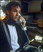 [ image: Nick Broomfield, on the trail of Margaret Thatcher (picture: Channel 4)]