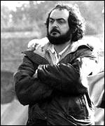 [ image: Stanley Kubrick, photographed in 1975, on the set of Barry Lyndon]