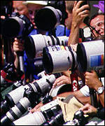 [ image: The ever-watchful eyes of the paparazzi]