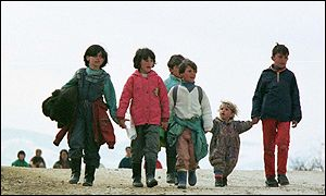 [ image: Some, like these children from Trstenik, were not so lucky]