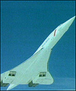 [ image: Concorde: In the line of fire]