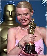 [ image: Gwyneth Paltrow: Won best actress award for her role as Shakespeare's lover]