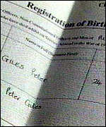 [ image: His death certificate show he died at 5.30am]