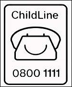 [ image: ChildLine receives thousands of calls about unwanted pregnancy]