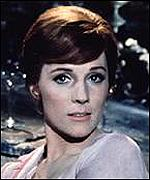 [ image: Julie Andrews: Lost out to Audrey Hepburn in the 1960s]