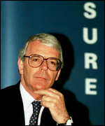 [ image: John Major: They joke about