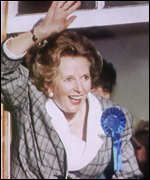 [ image: Margaret Thatcher: A Thatcher loyalist, Peter Lilley sees her often]