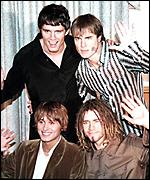 [ image: Take That finally split in 1996]