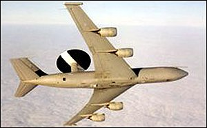 [ image: The airborne early warning aircraft are the lynch-pin of the integrated military force]
