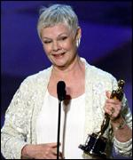 [ image: Dame Judi Dench with her Oscar]