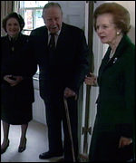 [ image: Pinochet's wife was present]