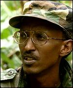 [ image: Paul Kagame: We'll see what comes out of it]