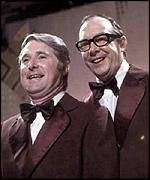 [ image: Eric Morecambe and Ernie Wise delighted millions]
