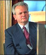 [ image: Milosevic has declared a
