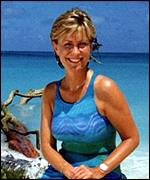 [ image: It's a tough job, but somebody's got to do it: Jill Dando in action]