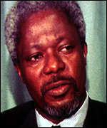 [ image: Kofi Annan played a masterstroke of diplomacy]