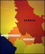 [ image: Montenegro is under severe pressure to join Serbia]