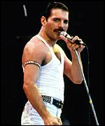 Queen lead singer, Freddie Mercury, image: bbc.co.uk
