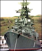 [ image: One of Russia's Black Sea Fleet warships]