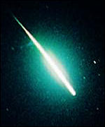 [ image: A Leonid fireball in the Hong Kong sky]