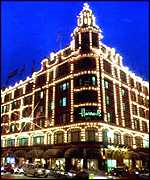 [ image: Landmark: Tourists flock to visit Harrods]