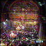 [ image: Serbs crowd to Belgrade's cathedral]