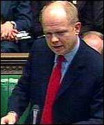 [ image: William Hague is seen as a strong Commons performer]