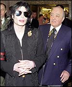 [ image: Friends: Jackson and Mr al-Fayed at Harrods]