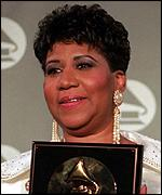 [ image: Respect: Aretha Frankin is ranked third]