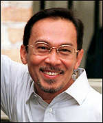 [ image: Anwar Ibrahim: Was a liberal voice in government]