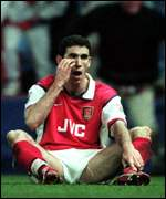 [ image: Keown: No fans to carry him]