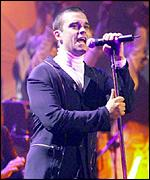 [ image: Robbie Williams: Headlining at the castle]