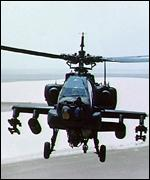 [ image: US Apache helicopters are due to be deployed soon]