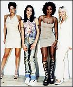 [ image: The Spice Girls polled 2% of the vote]