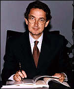 [ image: Telecom Italia boss  Franco Bernabe hopes that Deutsche Telecom will save him from Olivetti]