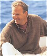[ image: Kevin Costner: Out of Africa in a fishing sweater?]