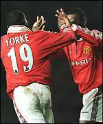 [ image: Yorke and Cole: Could they have kept Dennis Law out of the side?]