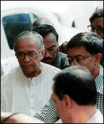 [ image: Jyoti Basu: Ruled out as compromise candidate]