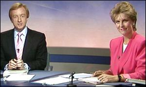 Jill Dando and Nicholas Witchell