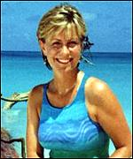 Jill Dando fronting Holiday